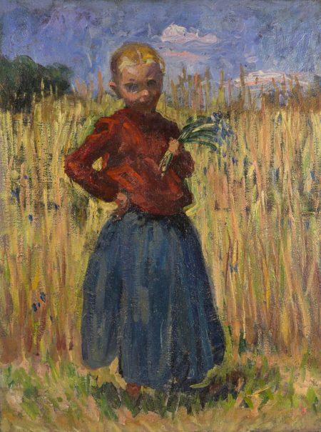 Peasant Girl Nikolai Aleksandrovich Tarkhov